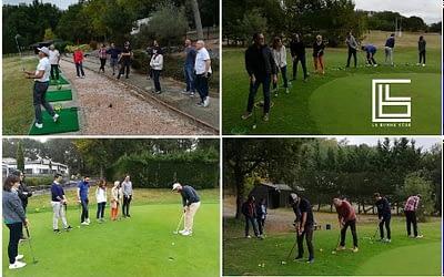 Réseau la Bonne Côse – Tiger Wood n'a qu'à bien se tenir ! #initiation #golf